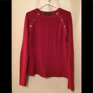 ⚡️Ralph Lauren Red Ribbed Sweater